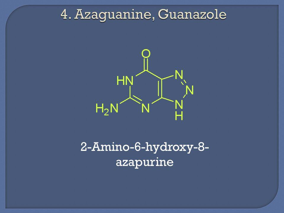 2-Amino-6-hydroxy-8- azapurine