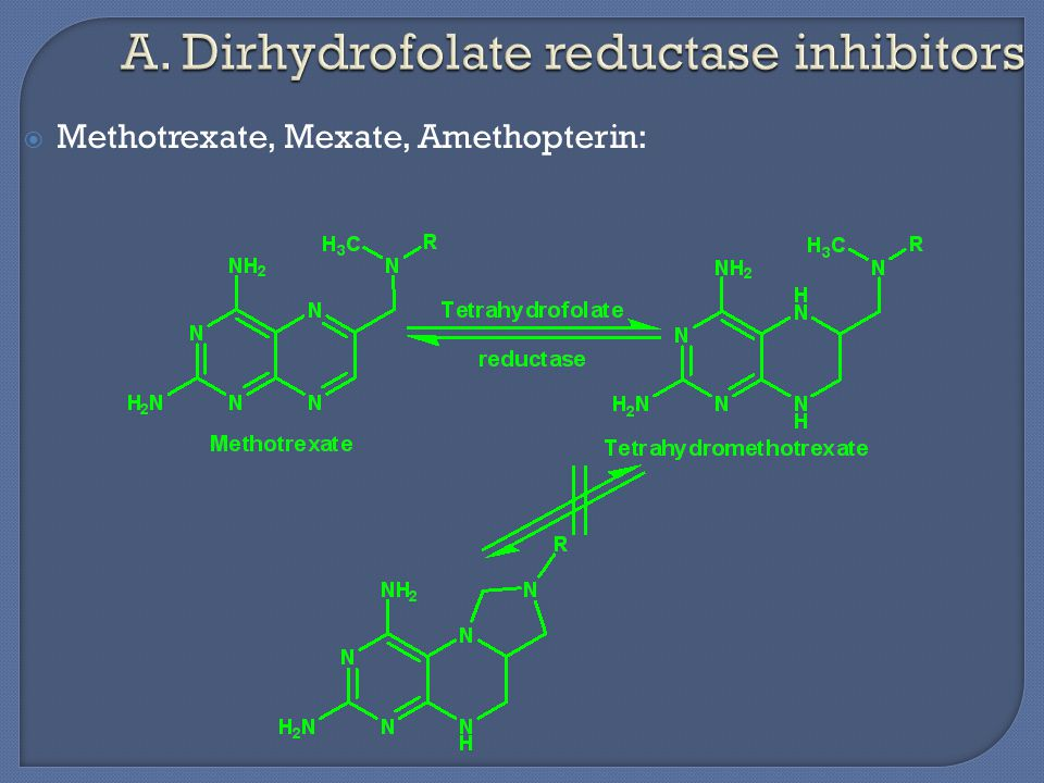  Methotrexate, Mexate, Amethopterin: