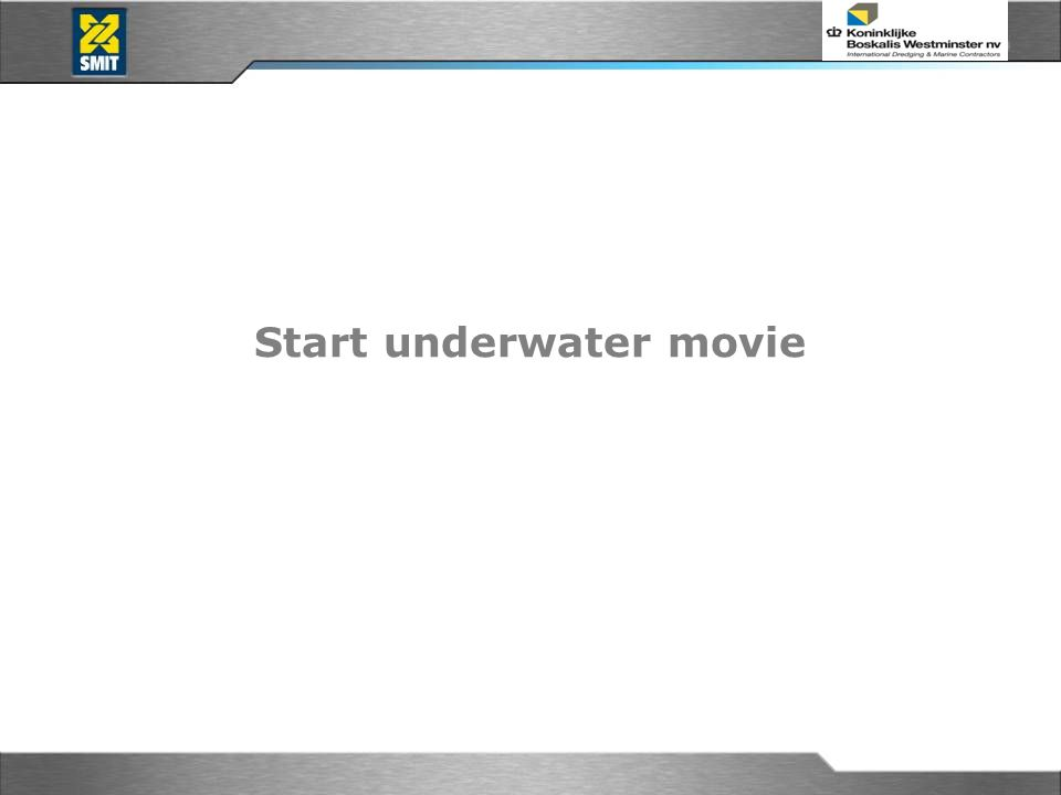 Start underwater movie