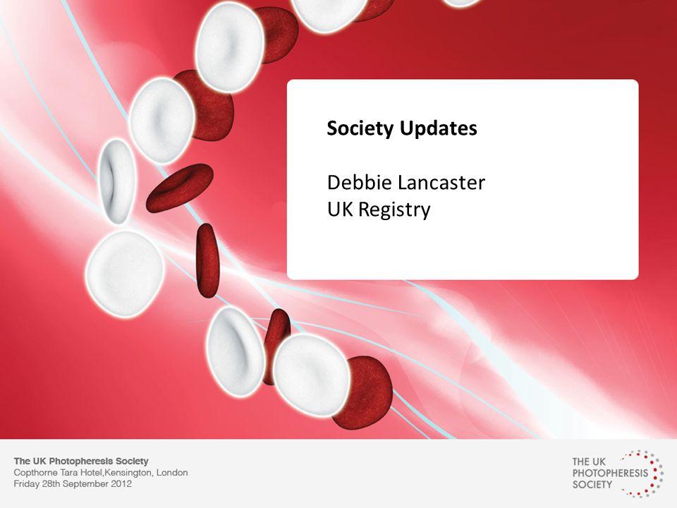 Society Updates Debbie Lancaster UK Registry