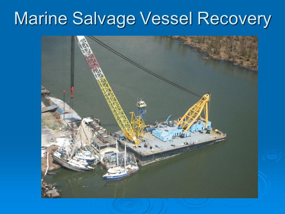 Marine Salvage Vessel Recovery