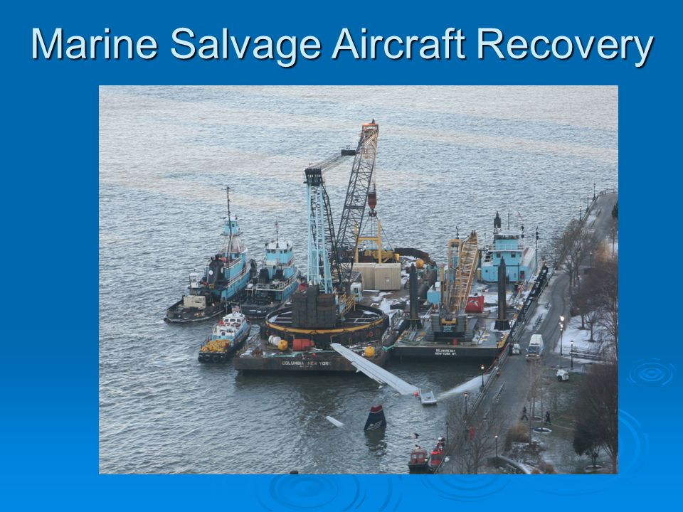 Marine Salvage Aircraft Recovery