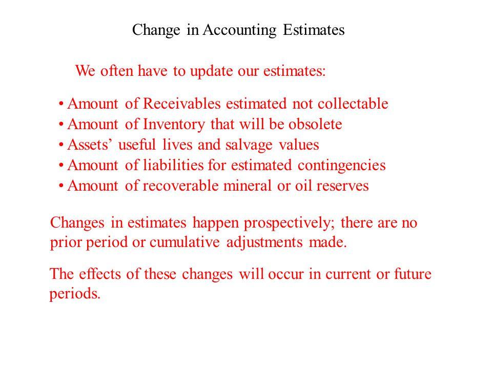 Types of Errors Non-Counterbalancing Errors Example: Jones Corp.