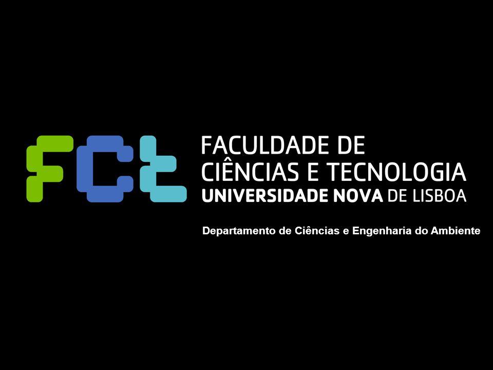 Workshop II - Integrated Modelling of Environment and Energy Policy Departamento de Ciências e Engenharia do Ambiente