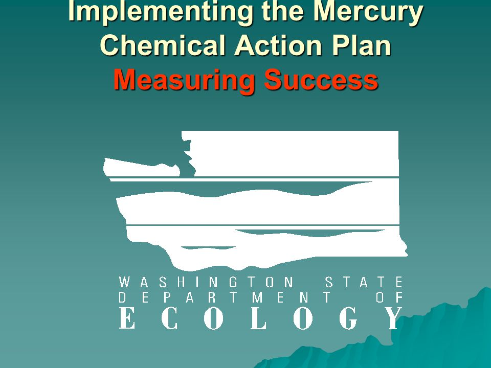 Implementing the Mercury Chemical Action Plan Measuring Success