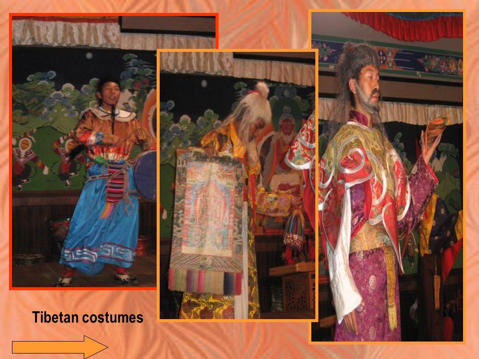 Tibetan costumes