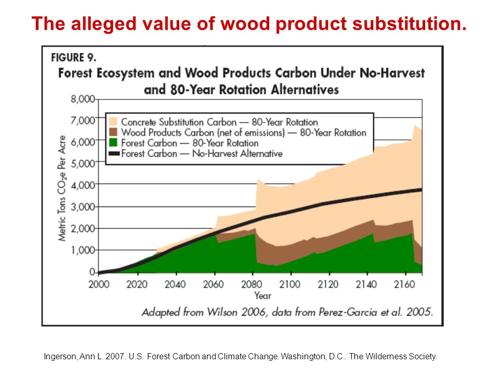 Ingerson, Ann L. 2007. U.S. Forest Carbon and Climate Change.