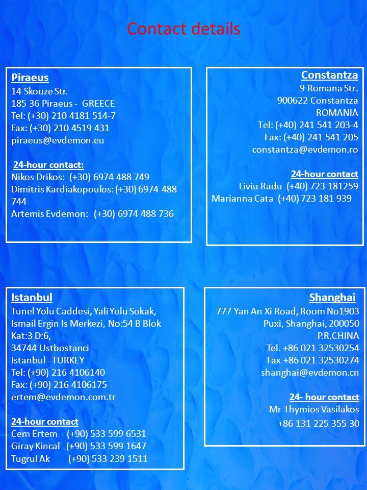 Contact details Constantza 9 Romana Str.