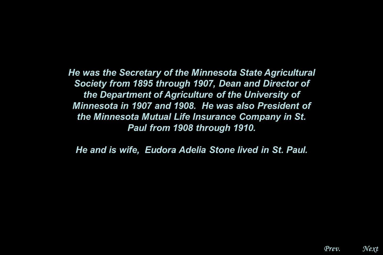 NextPrev. Eugene Wilson and Eudora Randall, Gen. 8 Eugen Wilson Randall was born in Winona, MN.
