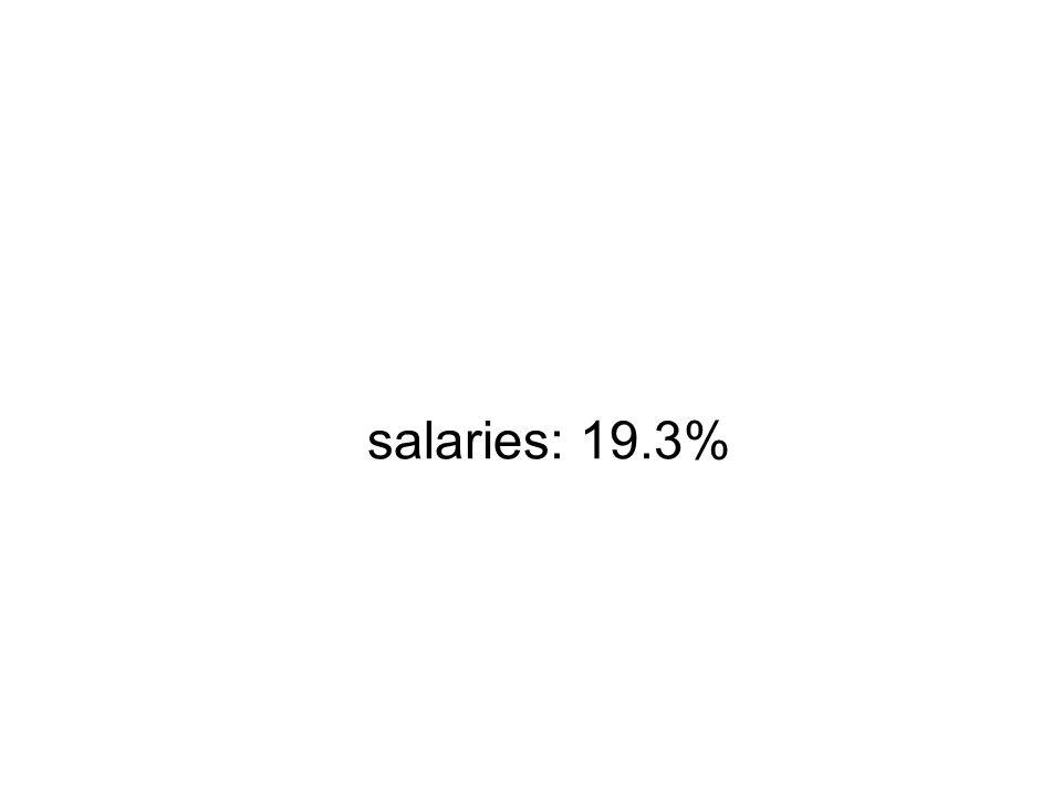 salaries: 19.3%
