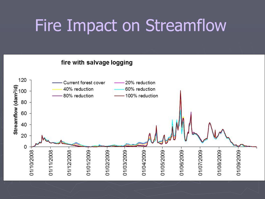 Fire Impact on Streamflow