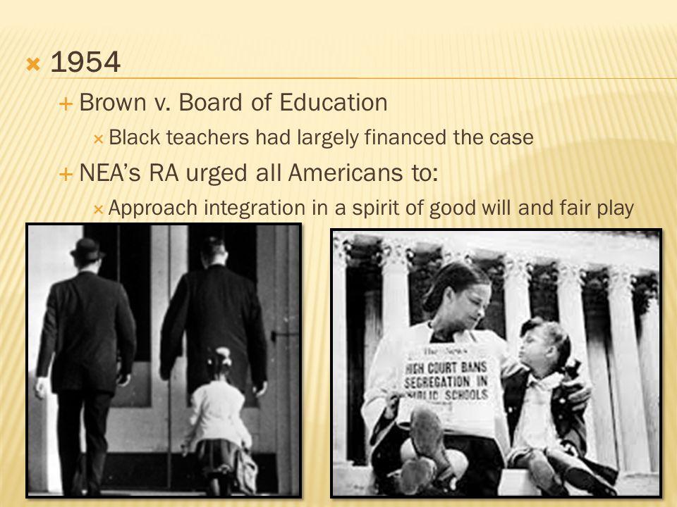  1954  Brown v.