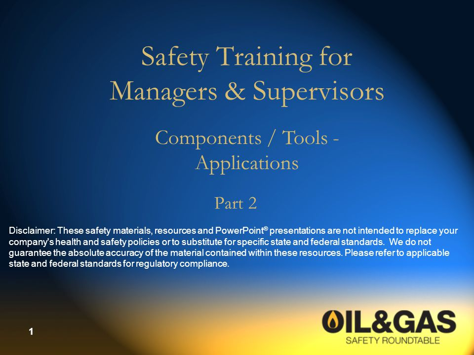 2 Seven Components/Tools  Introducing Safety to Employees  Hazard Recognition: Inspections & Audits  Incident Investigation  Effective Employee Communications  Delivering Effective Training  Job Safety Analysis  Key Safety Procedures