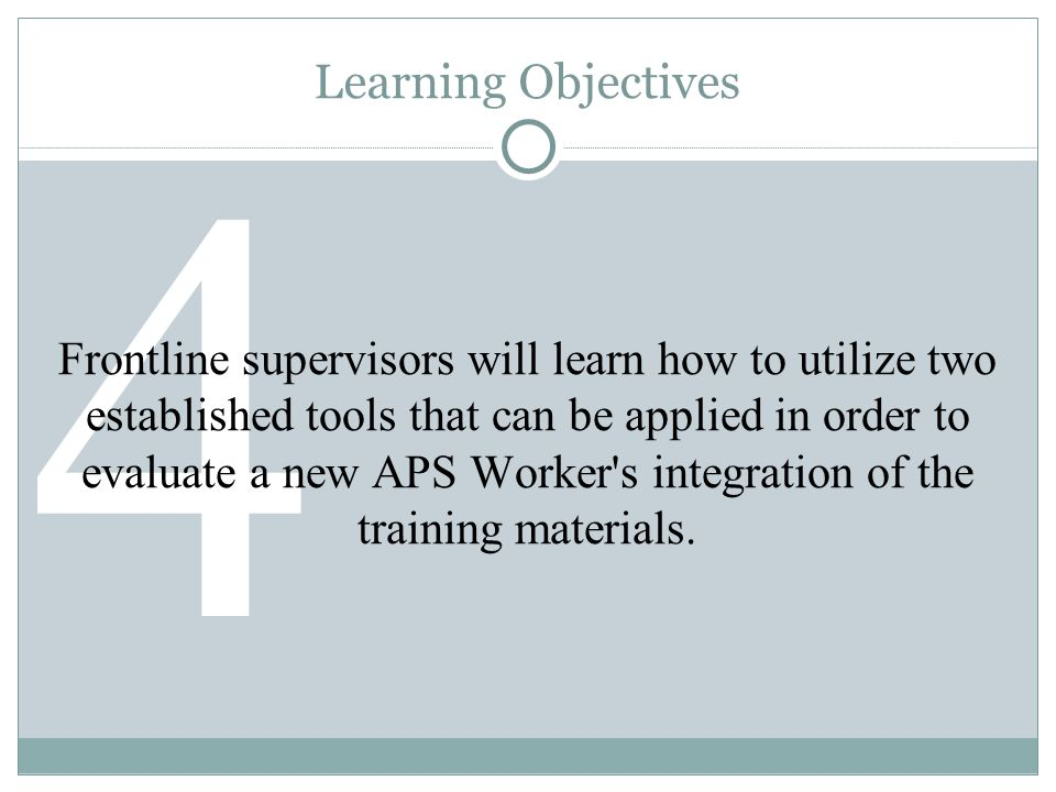 What do APS Training Programs Look Like Across the Country?