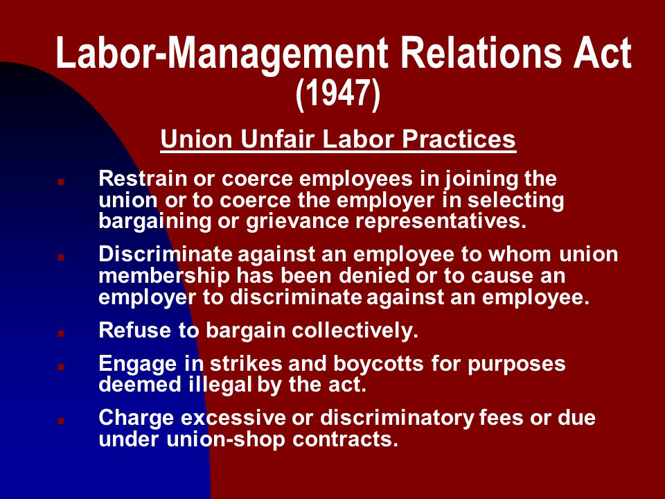 8 Labor-Management Cooperation During the 1990's the labor-management environment has been experiencing some new approaches to issue and dispute resolution at both the bargaining table and during the administration of the agreements.