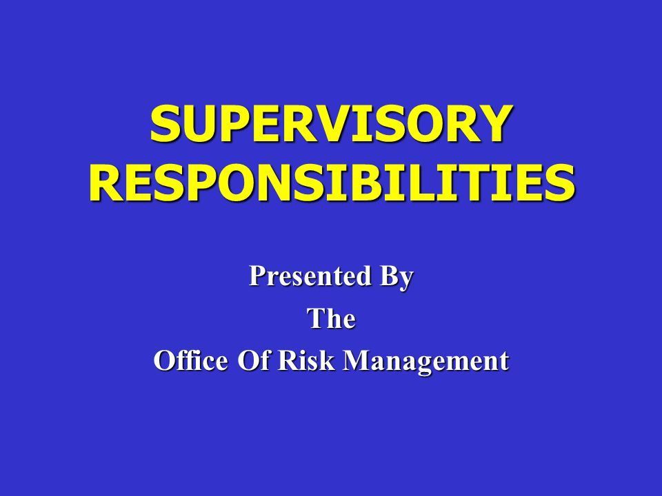 SUGGESTED SAFETY TOPICS FOR SUPERVISORS  Safety and the Supervisor  Know Your Accident Problems  Human Relations  Maintaining Interest in Safety  Instructing for Safety  Industrial Hygiene