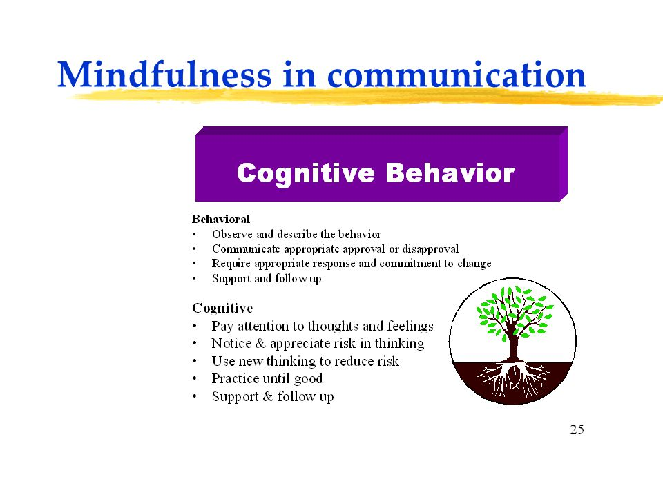 Mindfulness in communication P