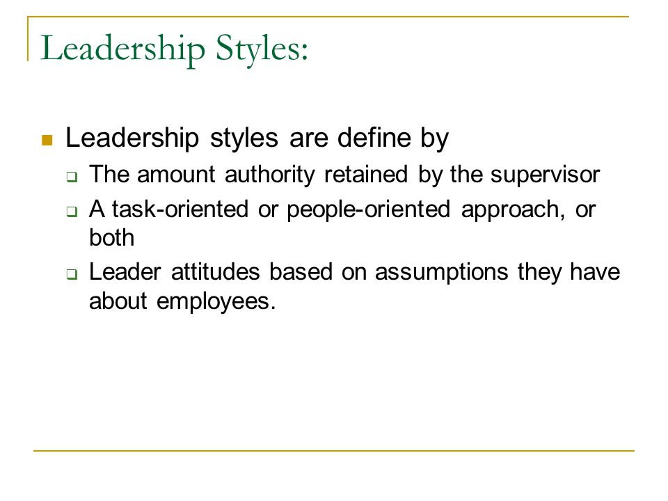 Democractic Leadership A leadership style in which the leader allows subordinates to participate in decision making and problem solving.