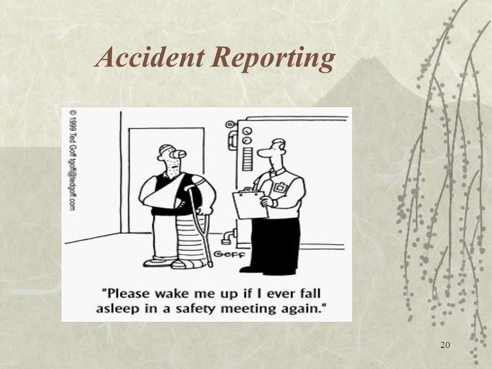 20 Accident Reporting