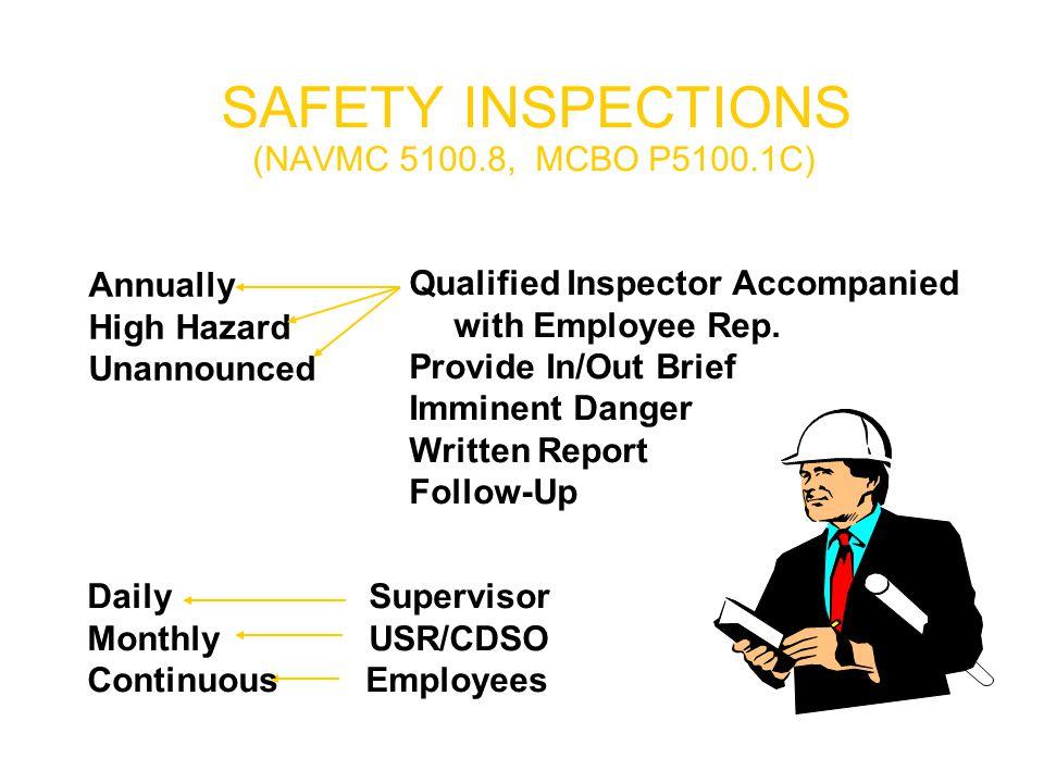  Attitude  Communication  Training  Compliance  Inspections  Investigation  Proper Maintenance Preventing Mishaps