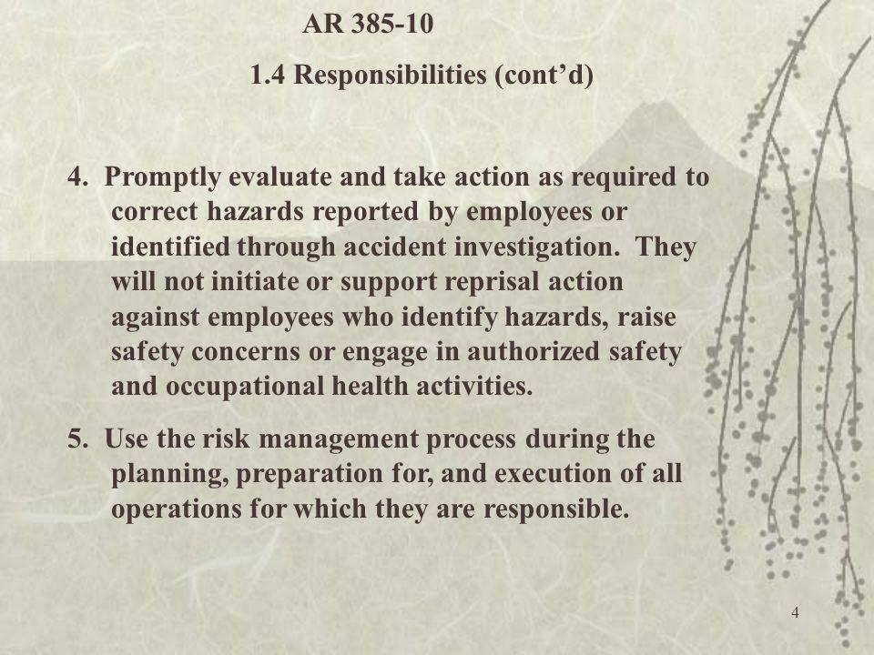 25 What are hazards.