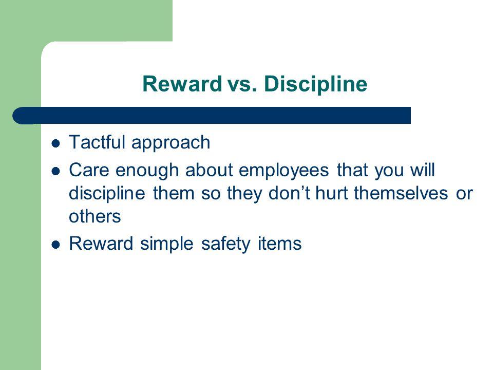 Reward vs.