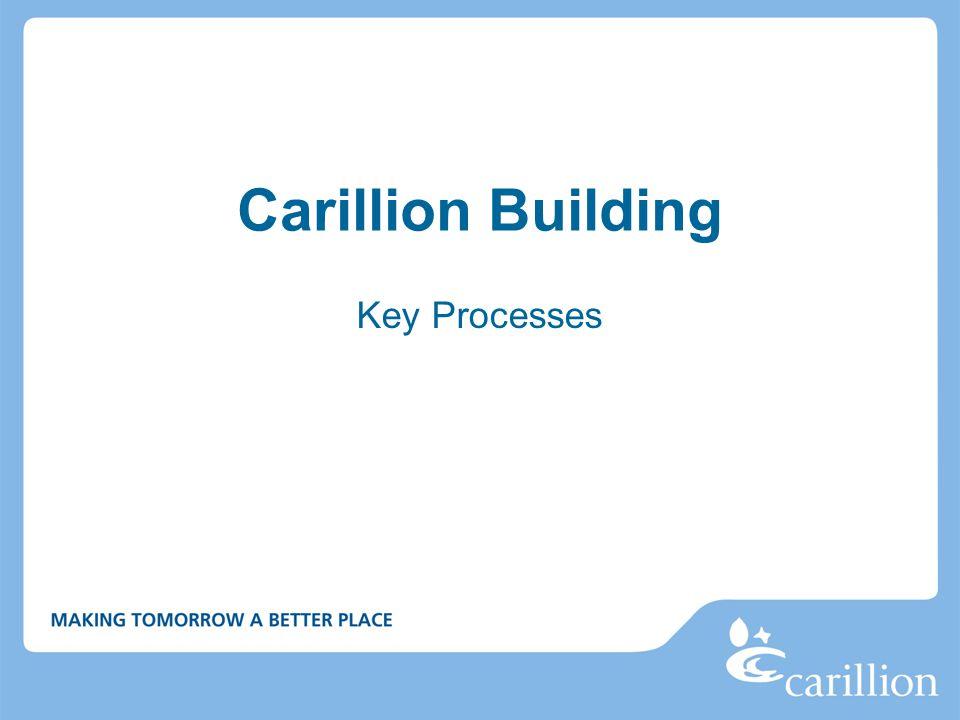 Carillion Building Key Processes