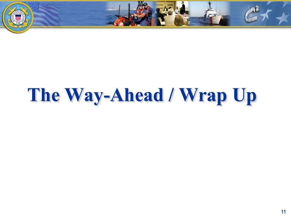 The Way-Ahead / Wrap Up C² Proprietary 11