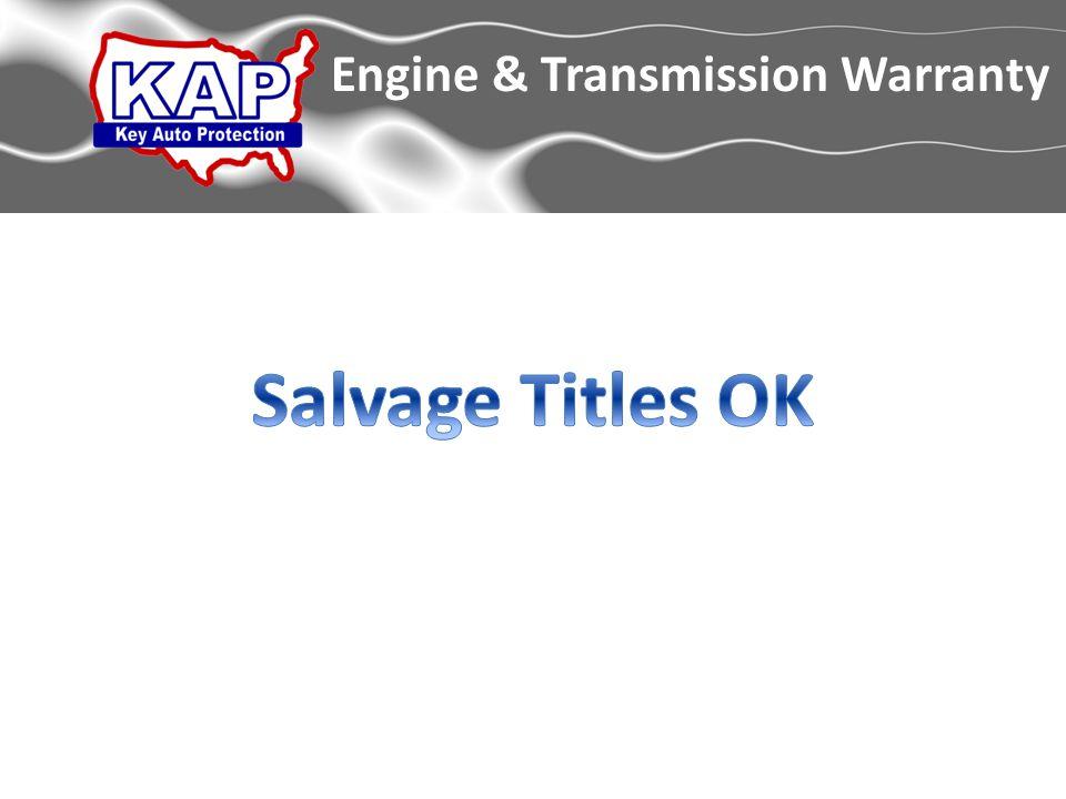 Engine & Transmission Warranty