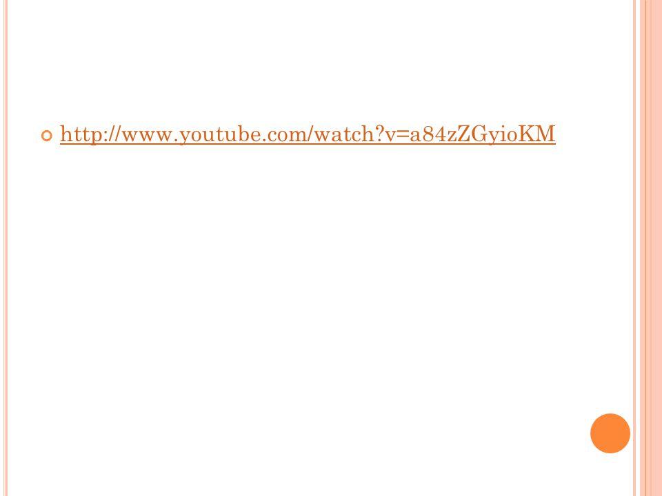 http://www.youtube.com/watch v=a84zZGyioKM