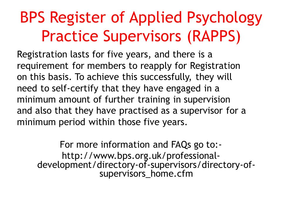 See summary table on developmental theories (Falender & Shafranske 2004) New supervisors Discomfort with role, identification with own past supervisors, more structured/rigid More advanced supervisors Comfortable with role, more focused on learning agenda, realistic, comfortable with mistakes, more focused on relationships, more of a consultative role, sees supervisee as having key responsibilities in supervision