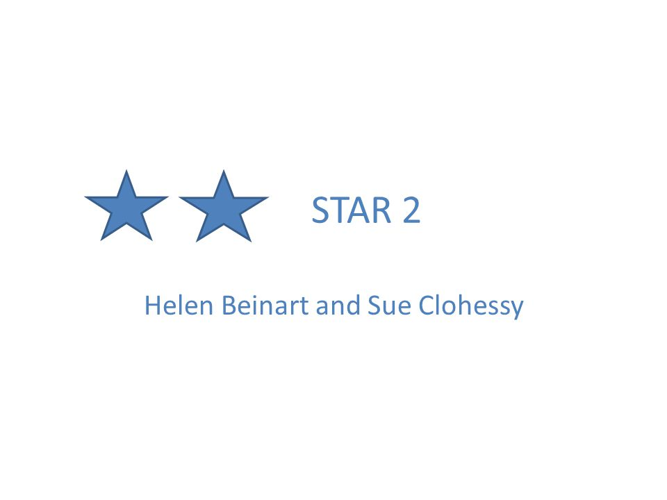 STAR 2 Helen Beinart and Sue Clohessy