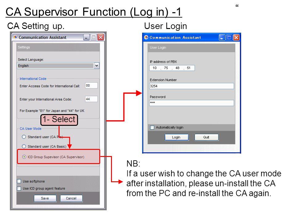 Call Monitor (Advanced Setting) We can modify the display.