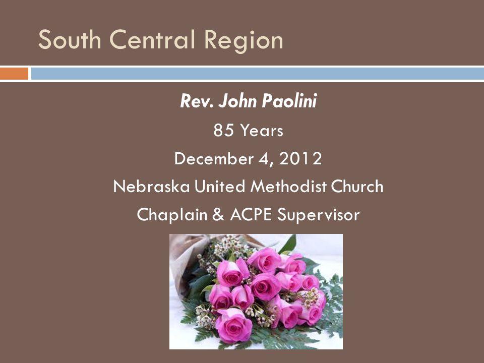 South Central Region Rev.