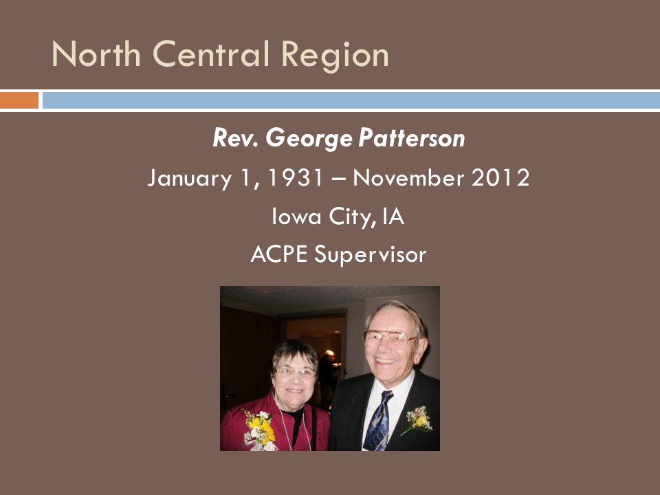 North Central Region Rev.