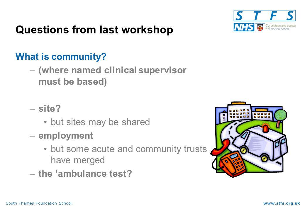 South Thames Foundation Schoolwww.stfs.org.uk Targets....