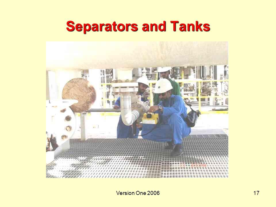 Version One 200617 Separators and Tanks