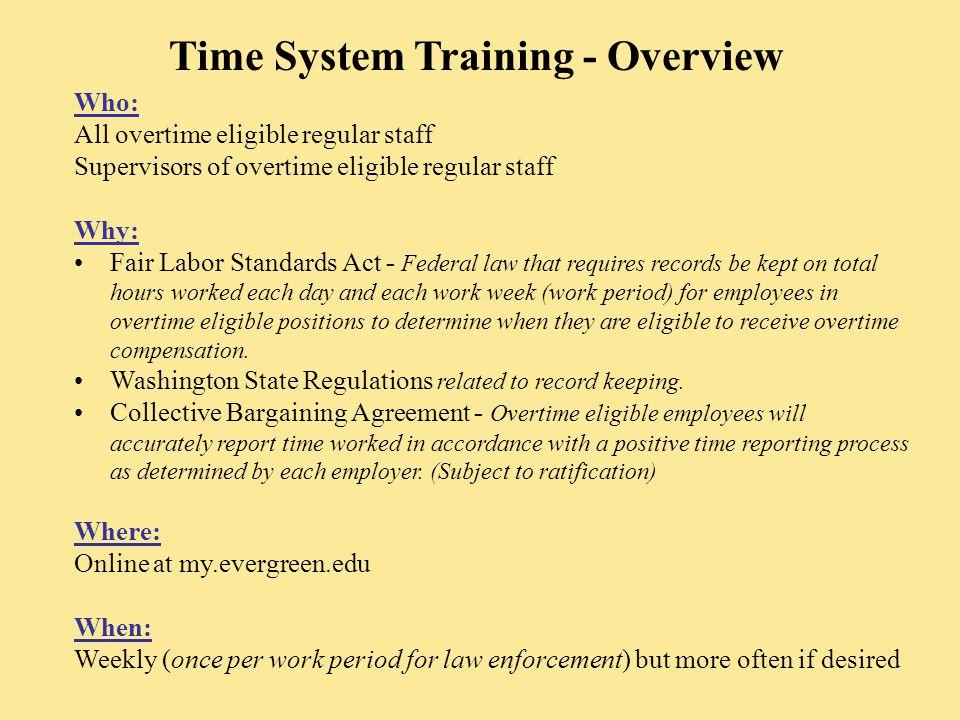 Certifying Work Period