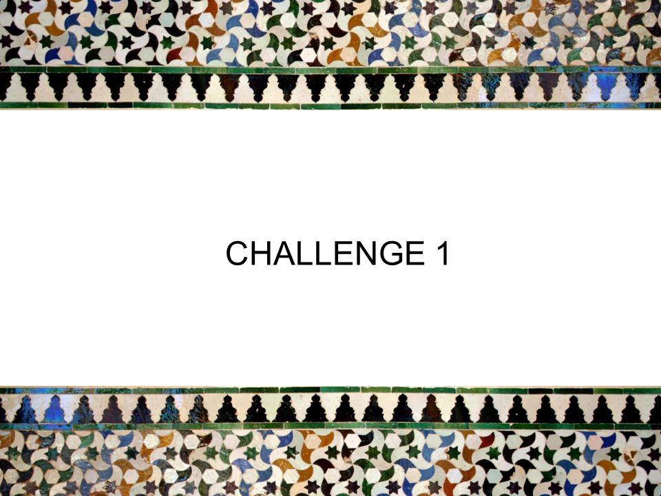 2 CHALLENGE 1