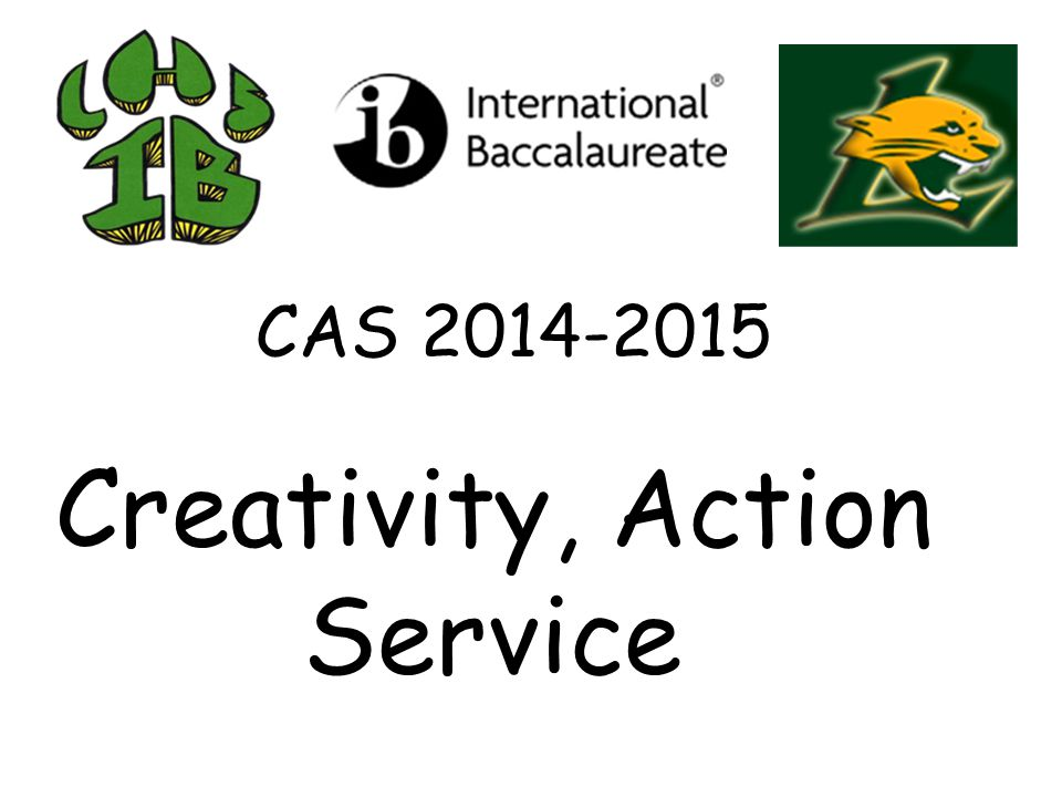 CAS Service is all Interact monthly service activities such as Stop Hunger Now