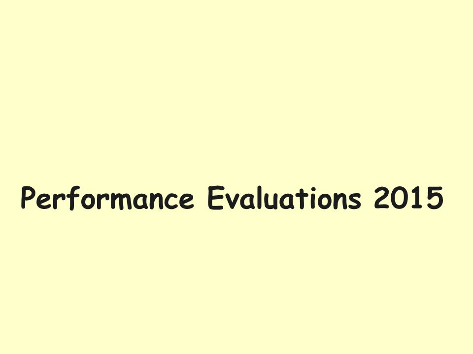Employee Selects Pending Evaluations
