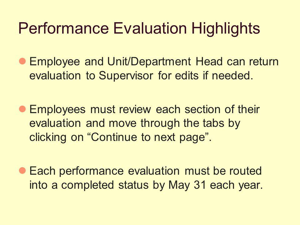 Click Performance Summary Tab