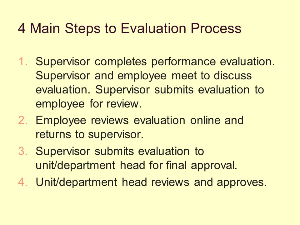 Performance Summary Tab The next section is the Performance Summary and the overall rating for the employee and is a required field: