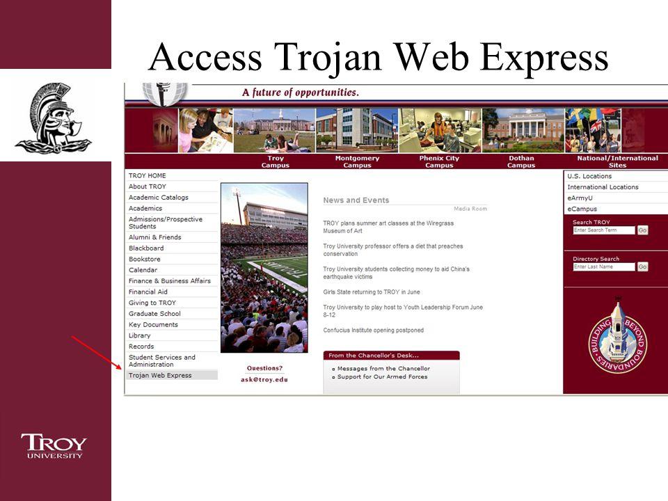 Access Trojan Web Express