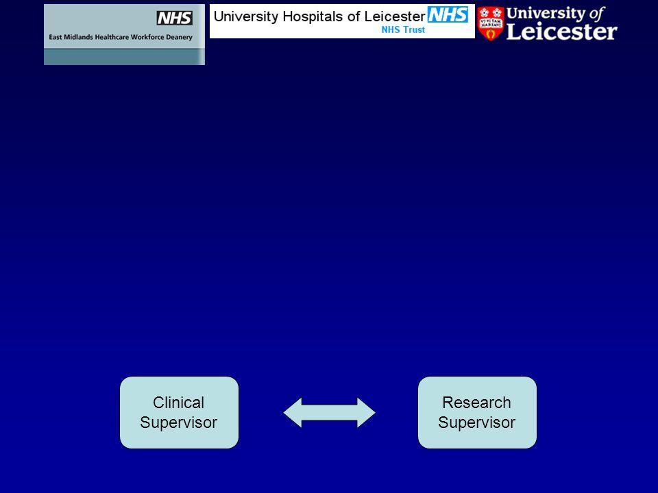 Research Supervisor Clinical Supervisor
