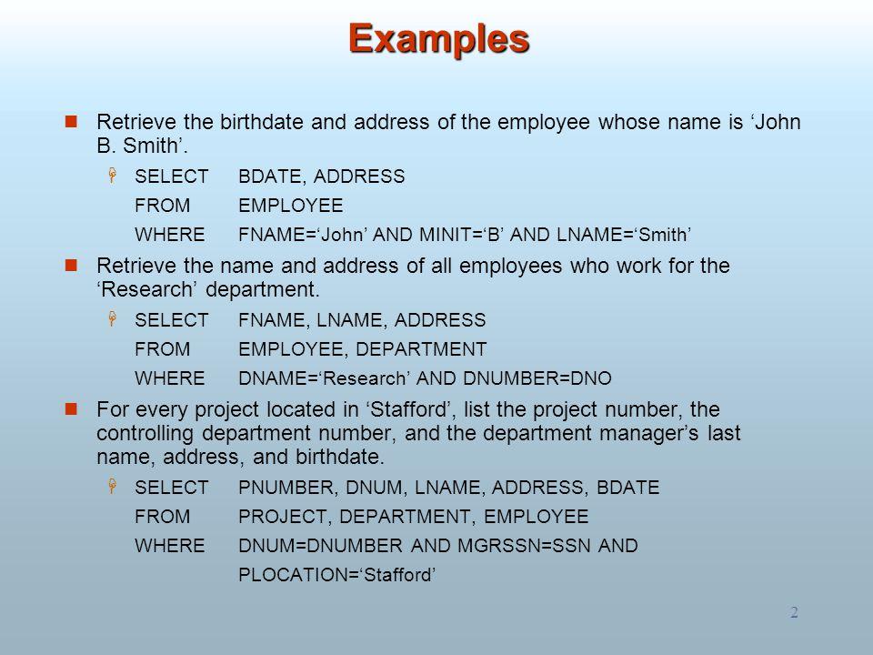 3 For each employee, retrieve the employee's first and last name and the first and last name of his or her immediate supervisor.
