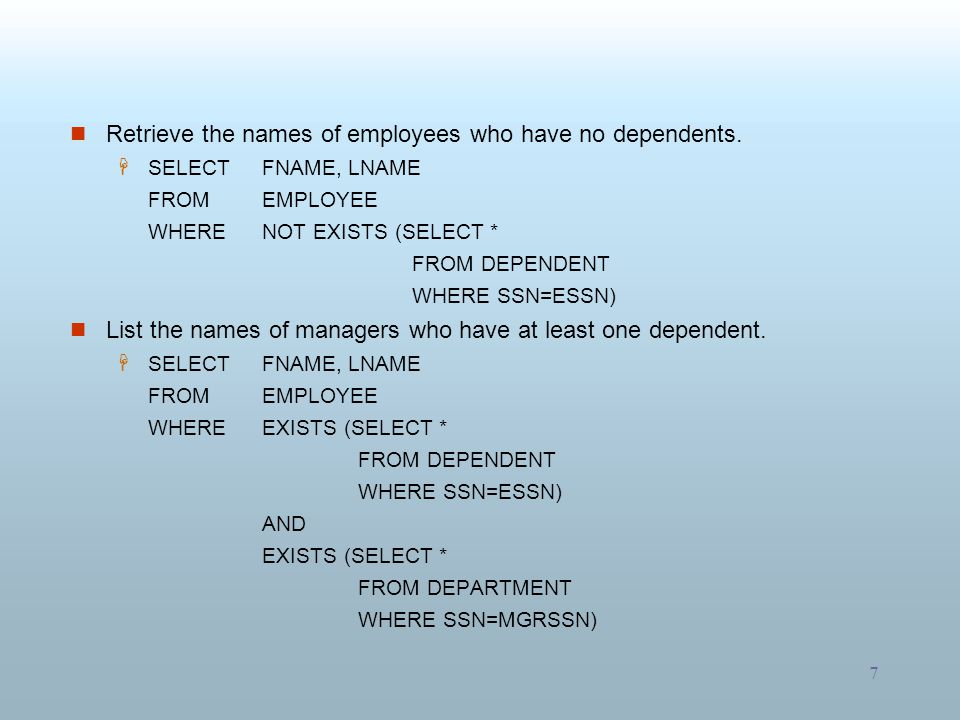 8 Retrieve the social security numbers of all employees who work on project number 1, 2, or 3.
