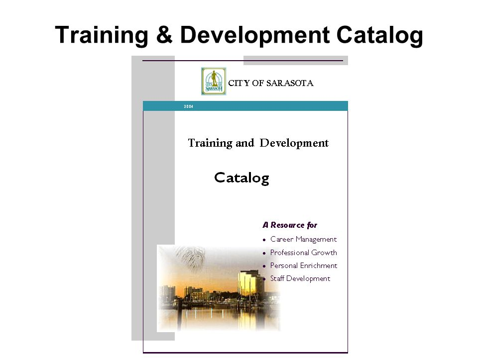 Training & Development Catalog