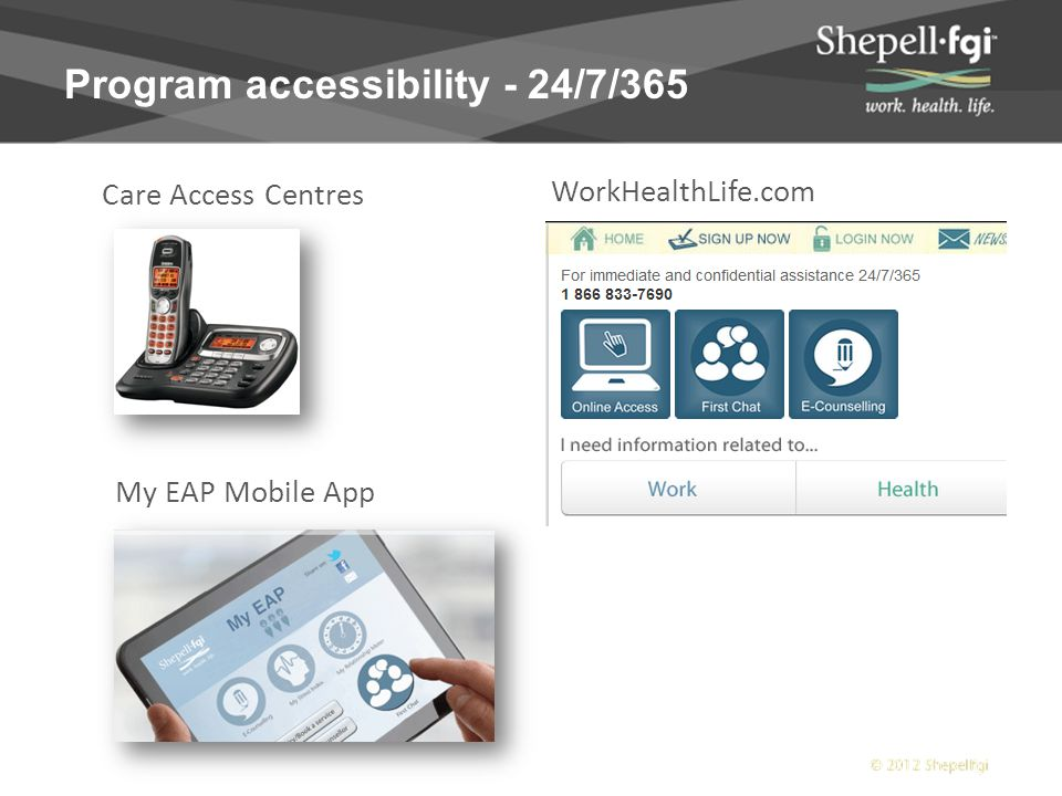 Employee Support Solutions  Domestic EFAP  Global EFAP  Traumatic Event Support Employee & Family Assistance Programs  Mental Health Training  Workplace Training  Mediation/Coaching/Investigations  Workplace Referral Program  Depression Care  WorkAssist  Substance Abuse Program/Structured Relapse Prevention Program Employee & Family Assistance Programs Workplace Learning SolutionsTargeted Health Solutions