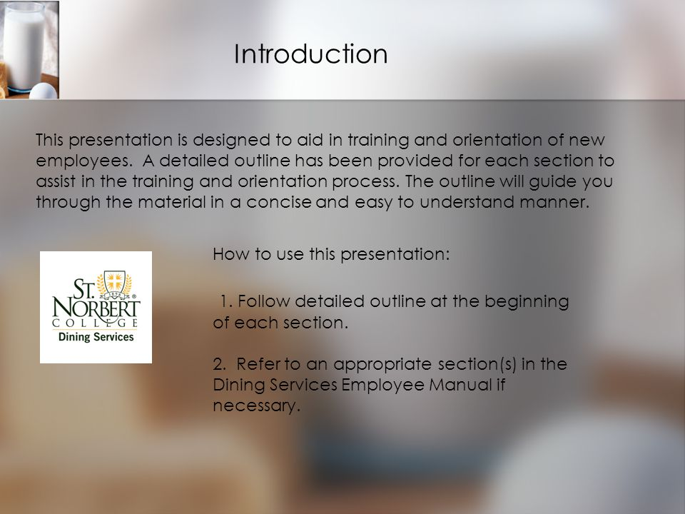 Introduction How to use this presentation: 1.